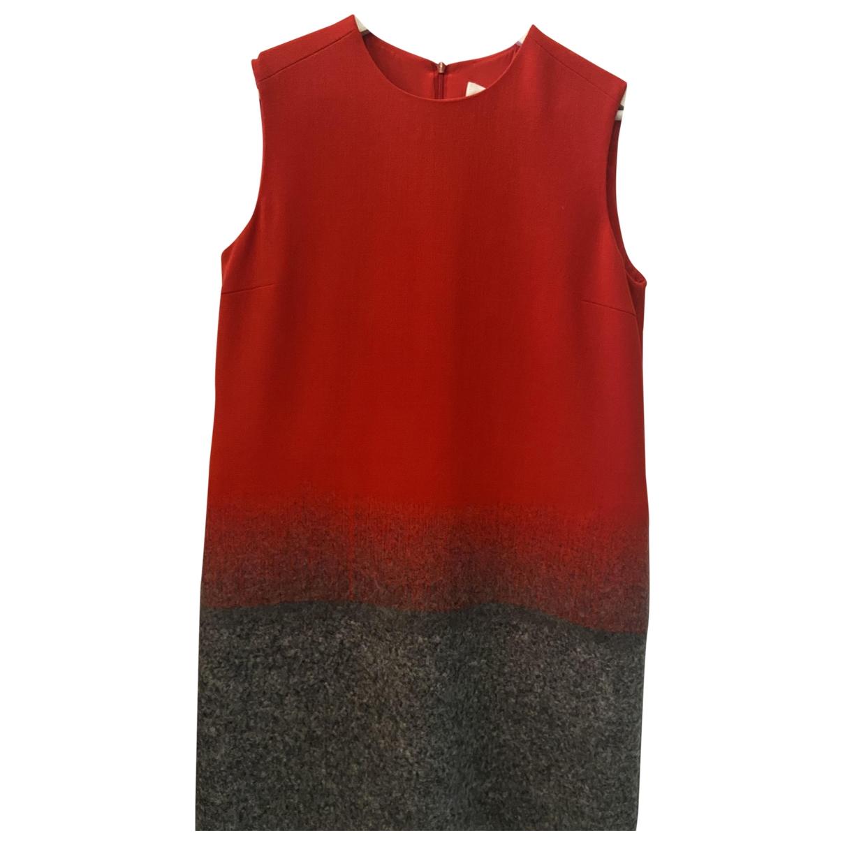 Victoria, Victoria Beckham - Robe   pour femme en laine - rouge