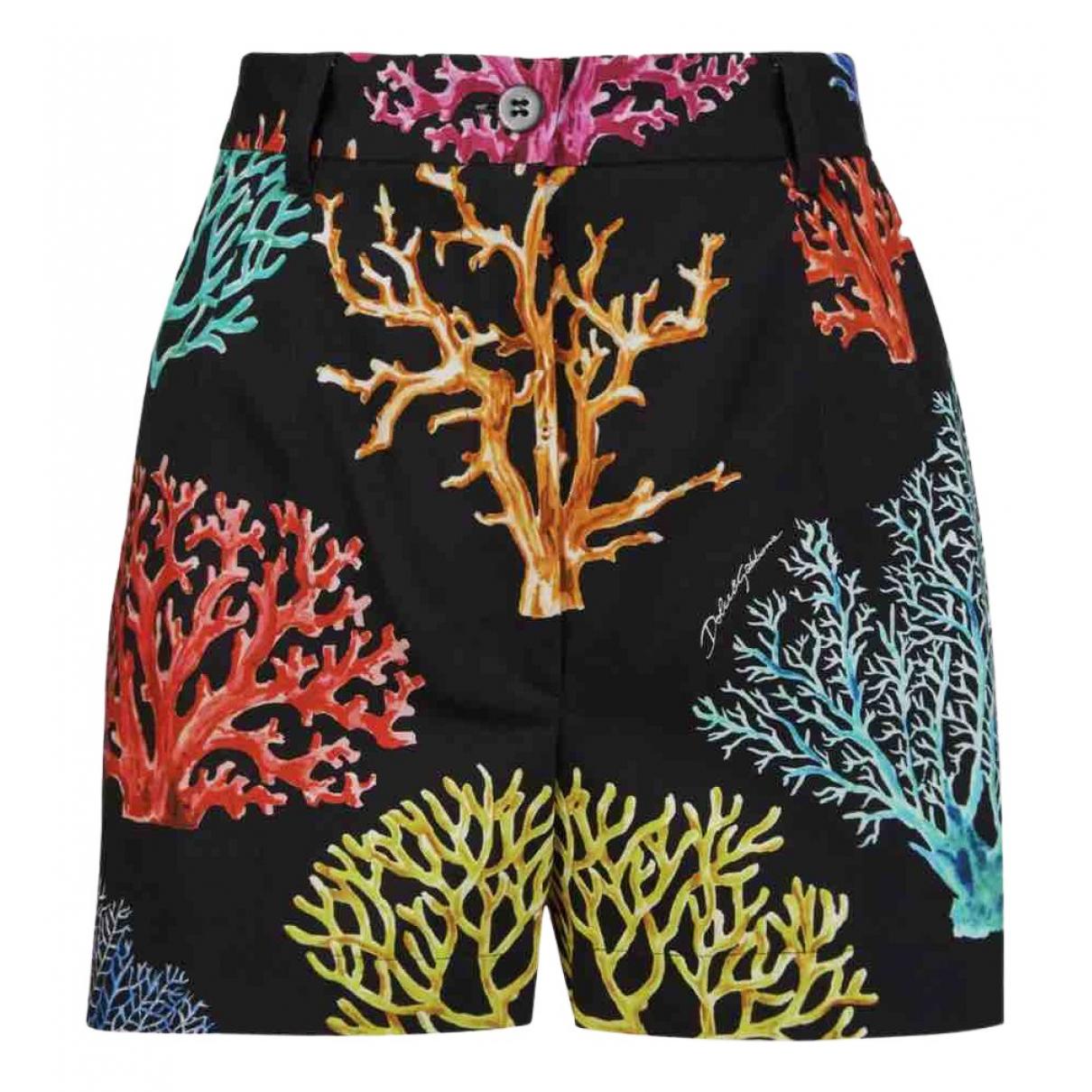 Dolce & Gabbana \N Shorts in  Schwarz Baumwolle