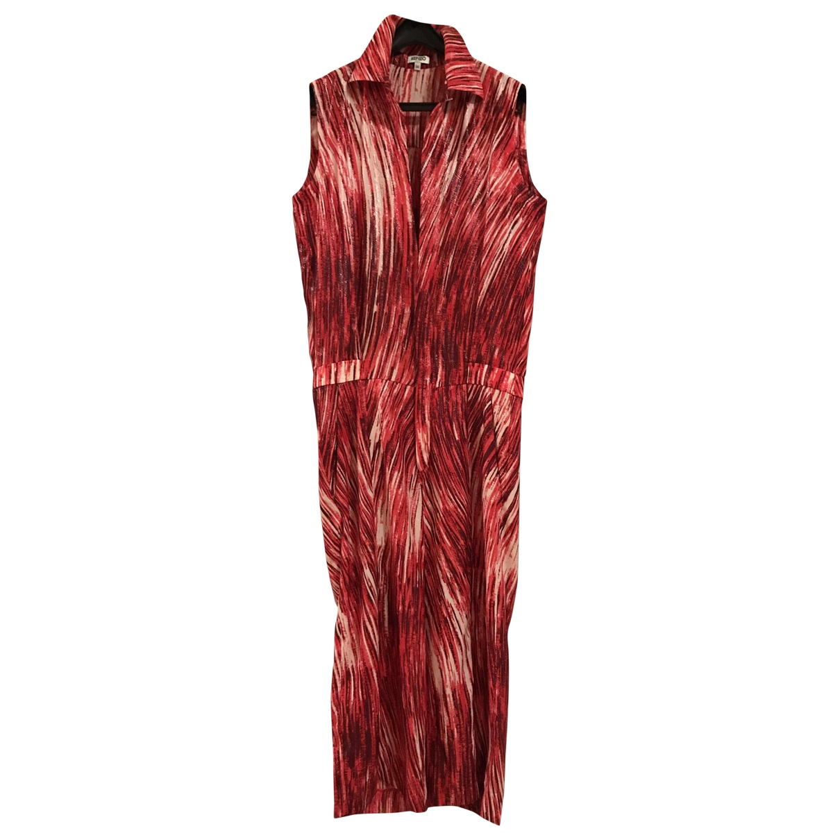 Kenzo \N Red Silk jumpsuit for Women 34 FR