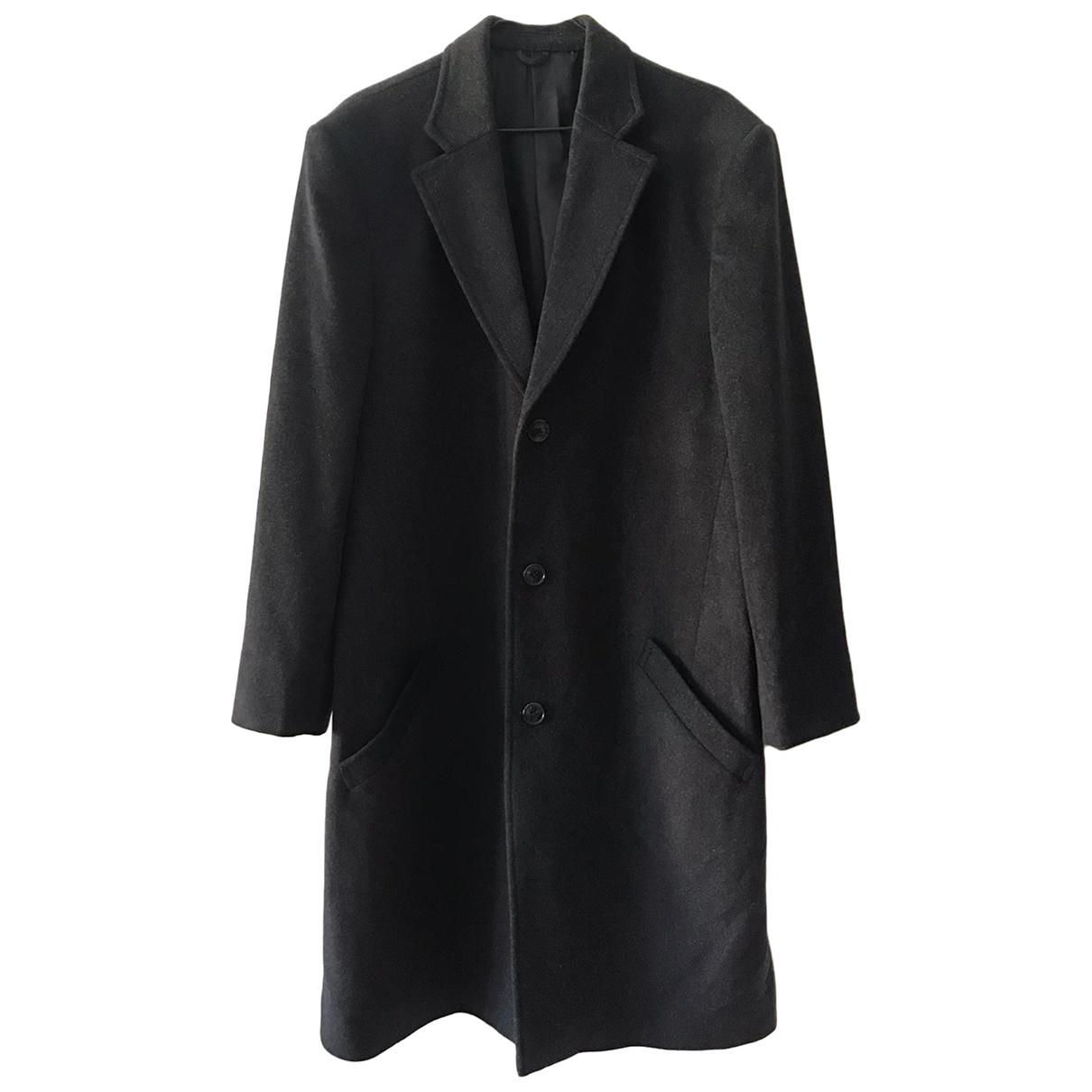 Brioni - Manteau   pour homme en cachemire - gris