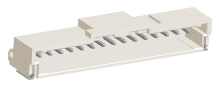 Molex , DuraClik, 502352, 15 Way, 1 Row, Right Angle PCB Header (10)