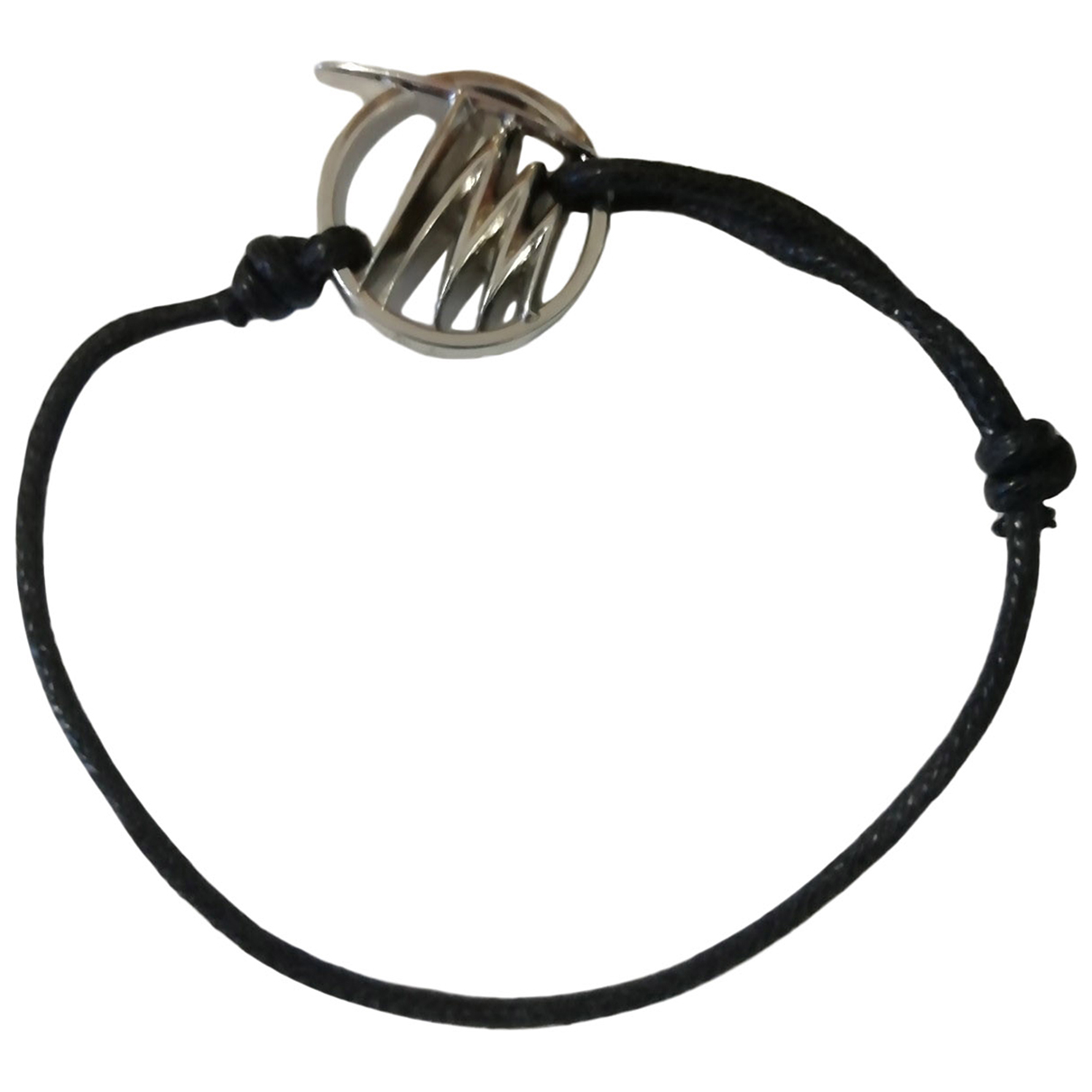 Thierry Mugler \N Black Metal bracelet for Women \N