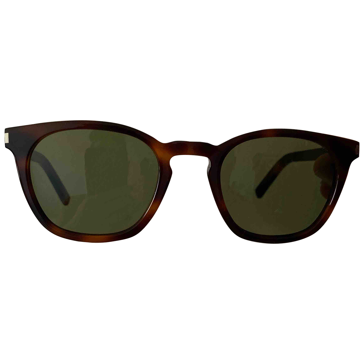 Saint Laurent \N Brown Sunglasses for Men \N