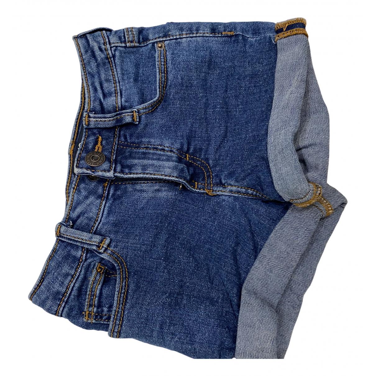 Mango \N Shorts in  Blau Denim - Jeans