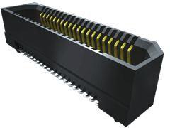 Samtec , ERF8 0.8mm Pitch 100 Way 2 Row Vertical PCB Socket, Surface Mount, Solder Termination (300)