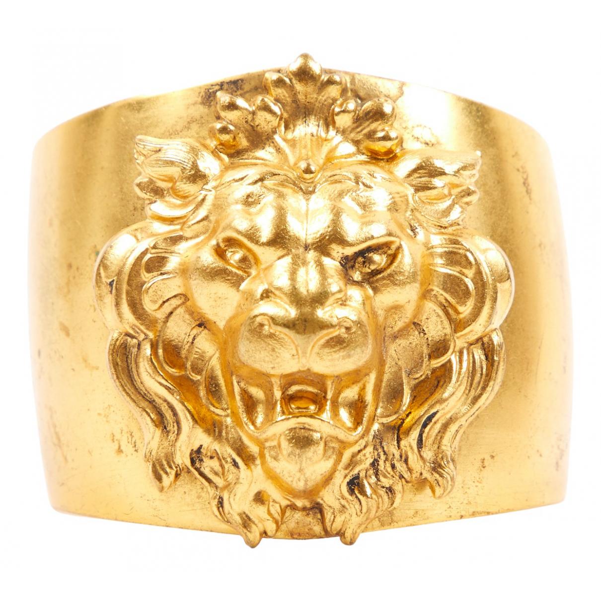 - Bracelet Motifs Animaliers pour femme en metal - dore