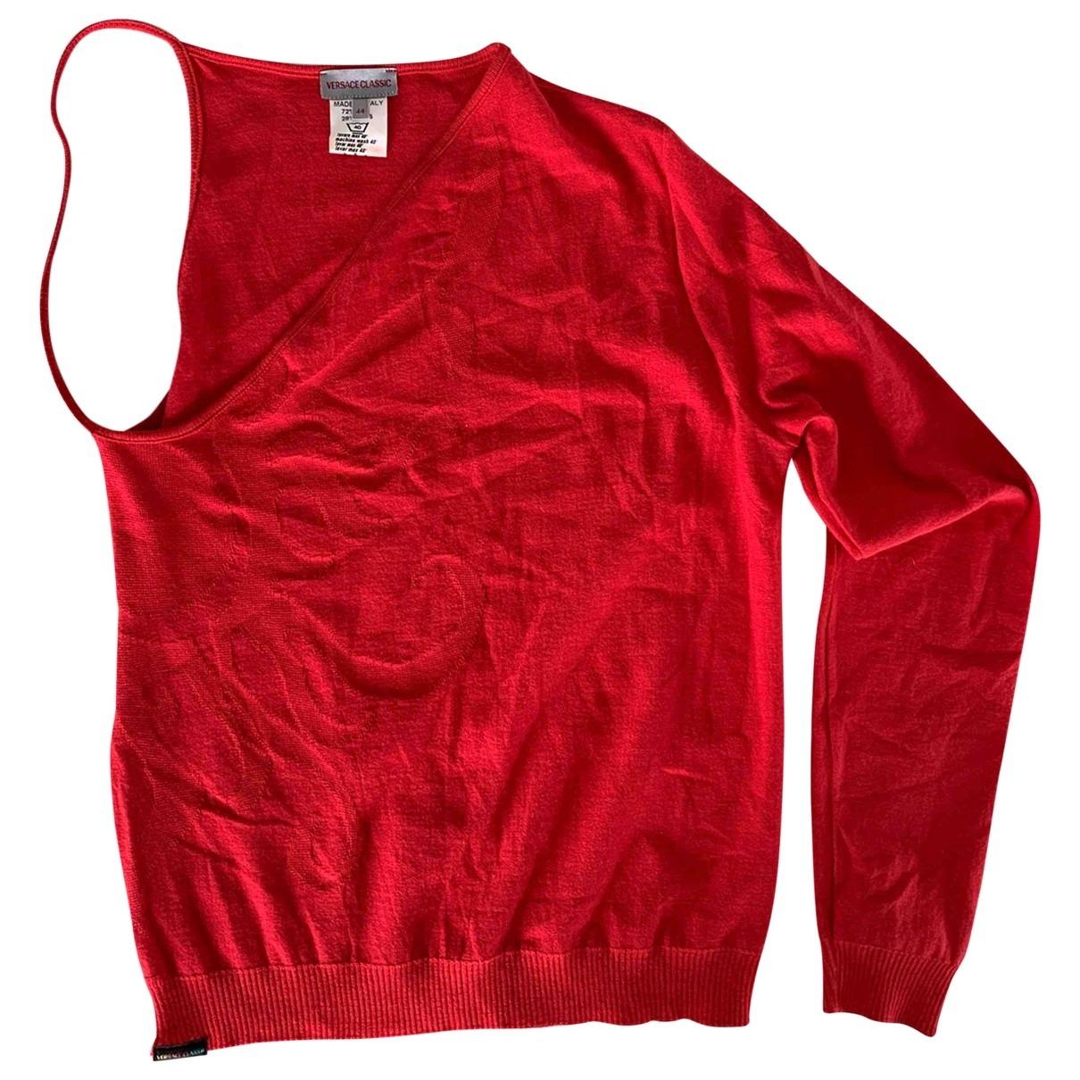 Versace - Pull   pour femme - rouge