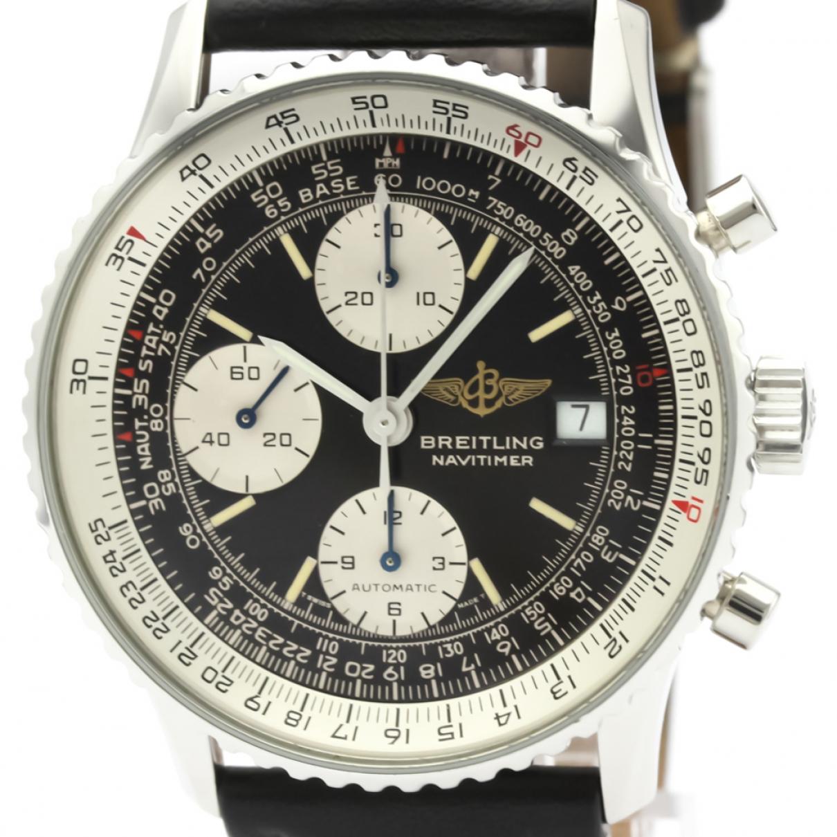 Breitling Navitimer Black Steel watch for Men \N