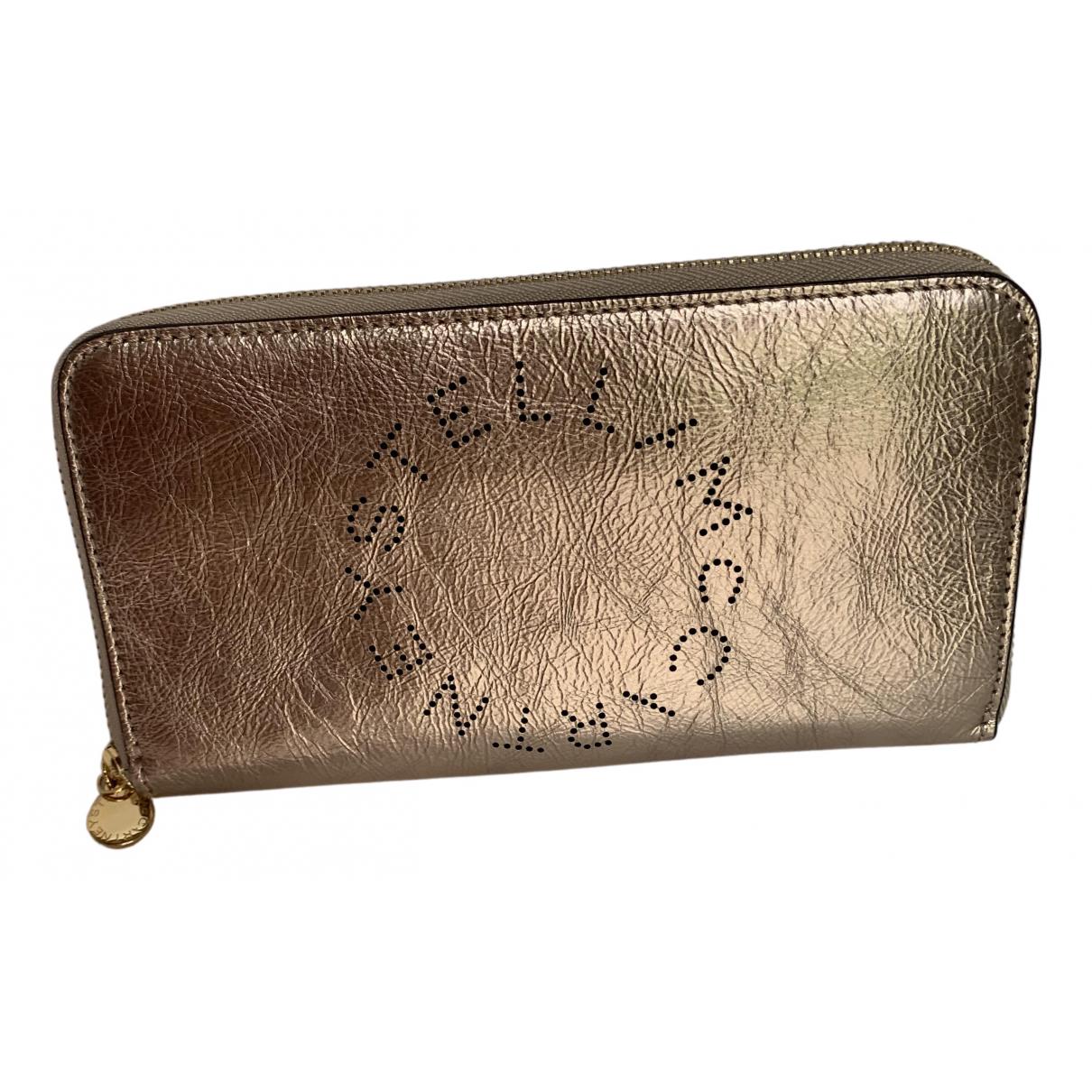 Stella Mccartney \N Portemonnaie in  Metallic Kunststoff