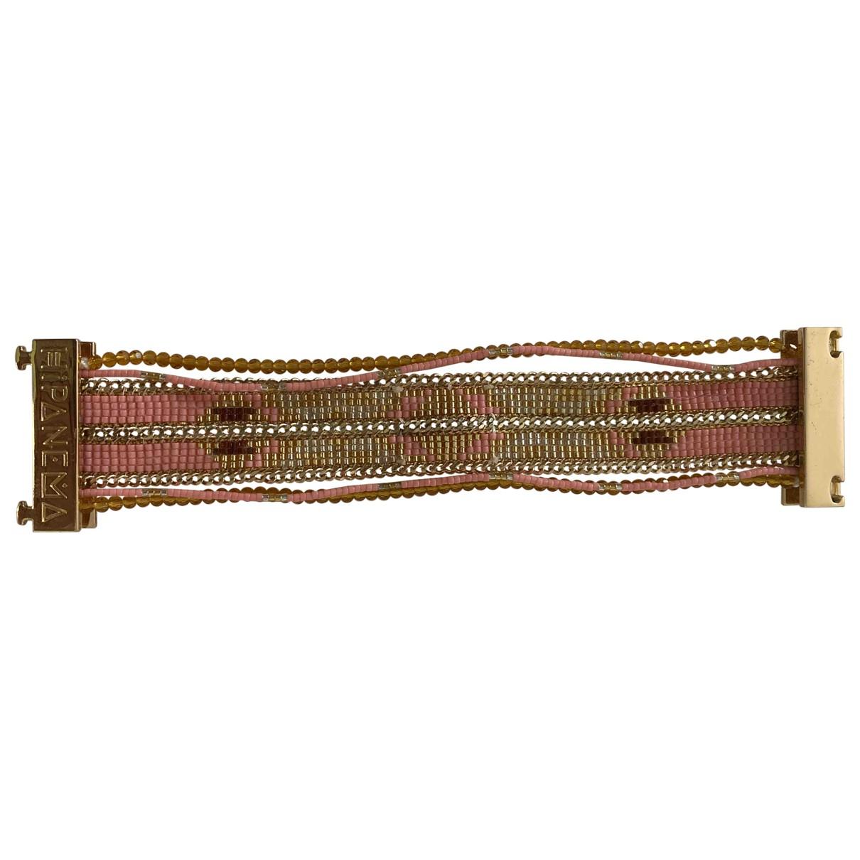 Hipanema - Bracelet   pour femme en metal - dore