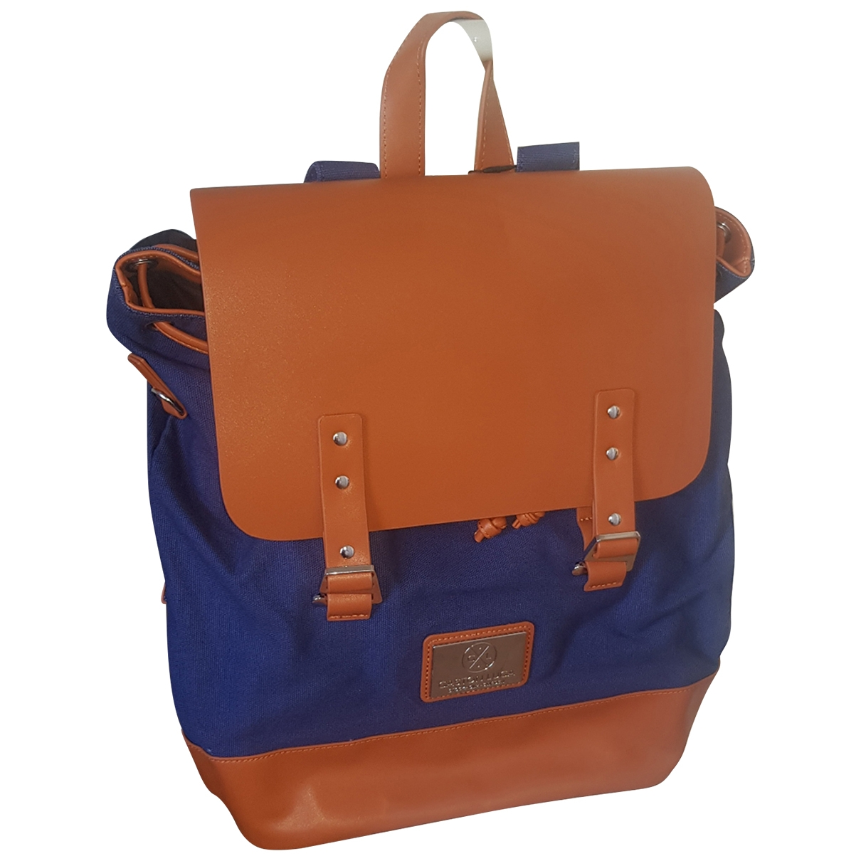 Non Signé / Unsigned \N Camel Cotton backpack for Women \N