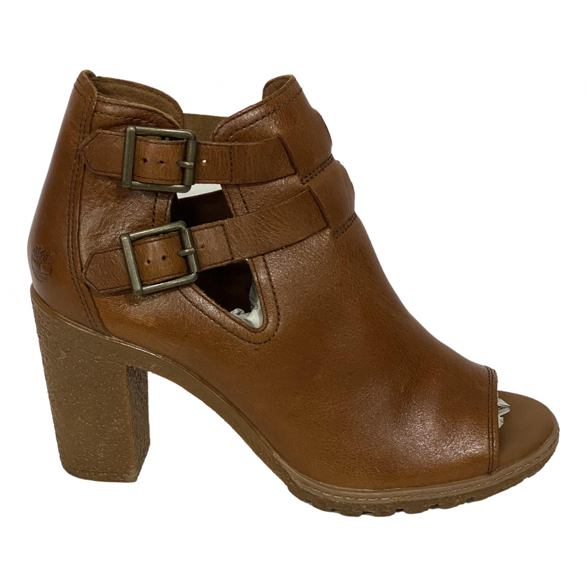 Timberland \N Brown Leather Boots for Women 38 EU
