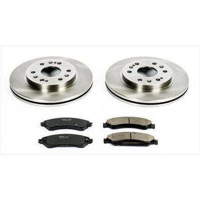 Power Stop 1-Click OE Replacement Front Brake Kits - KOE2067