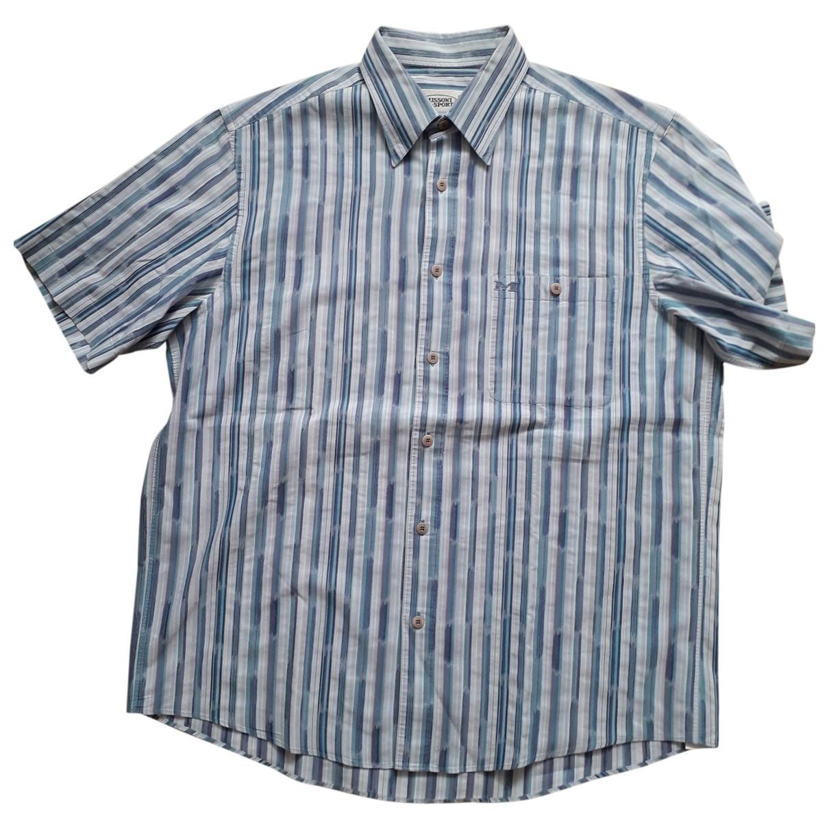 Missoni \N Hemden in  Blau Baumwolle