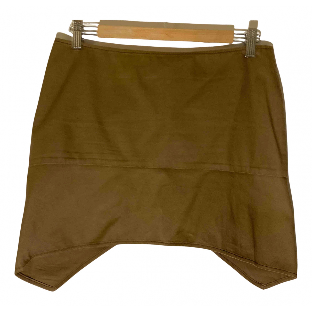 Gucci \N Brown Cotton skirt for Women 40 IT