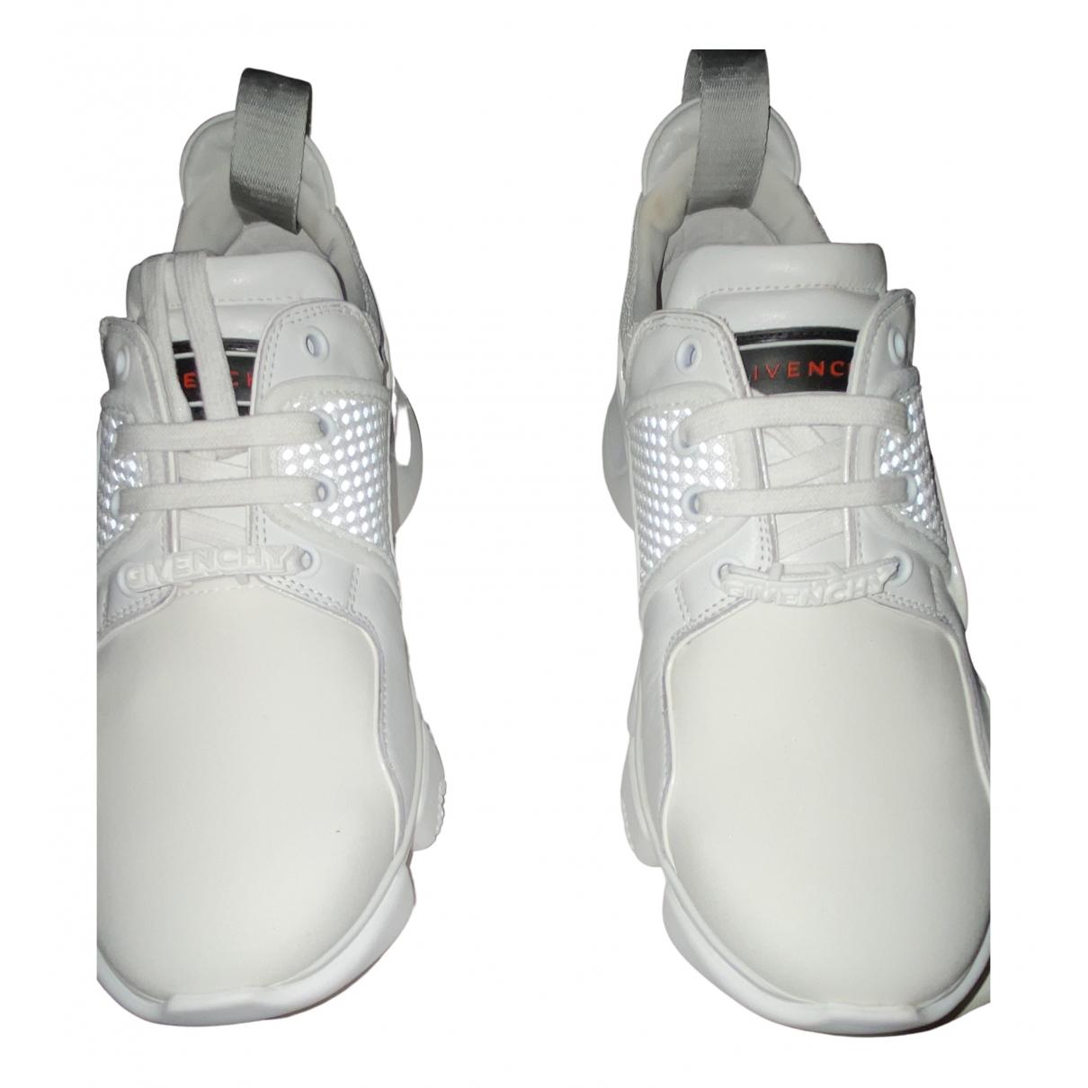 Givenchy - Baskets Jaw pour femme en cuir - blanc