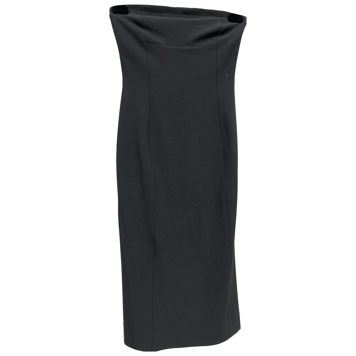 Daniele Alessandrini \N Kleid in  Schwarz Wolle