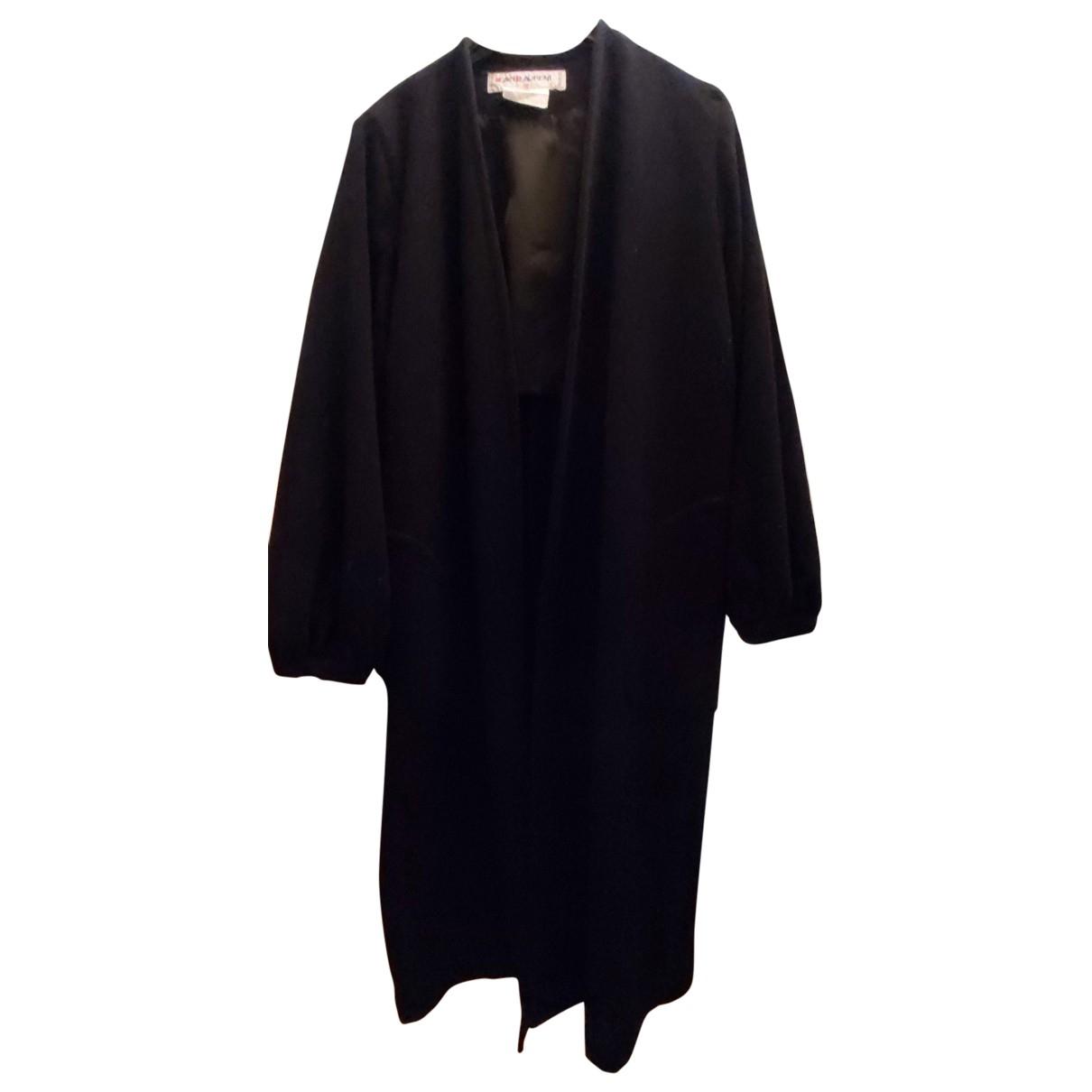 Abrigo de Lana Yves Saint Laurent