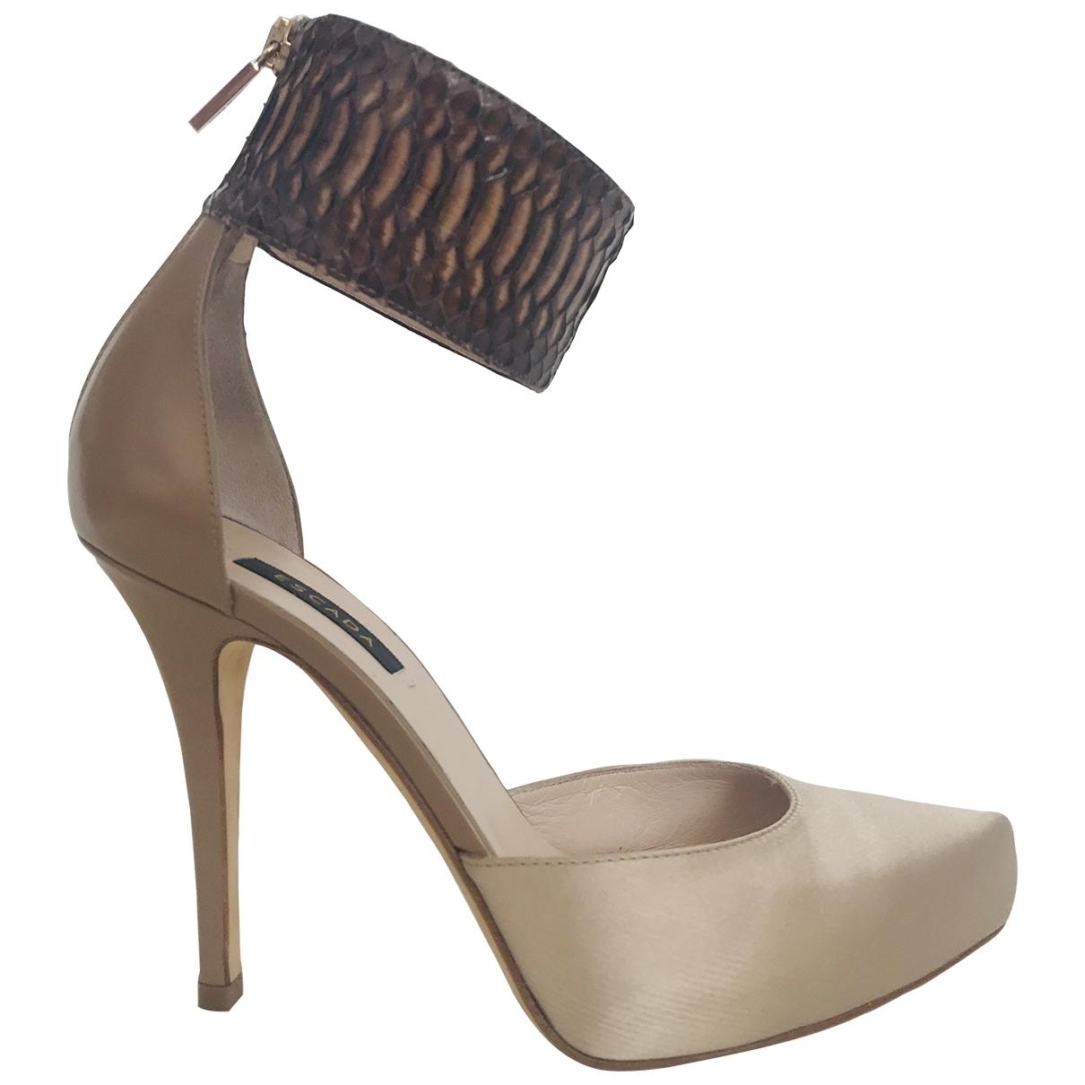 Escada \N Exotic leathers Heels for Women 38 EU