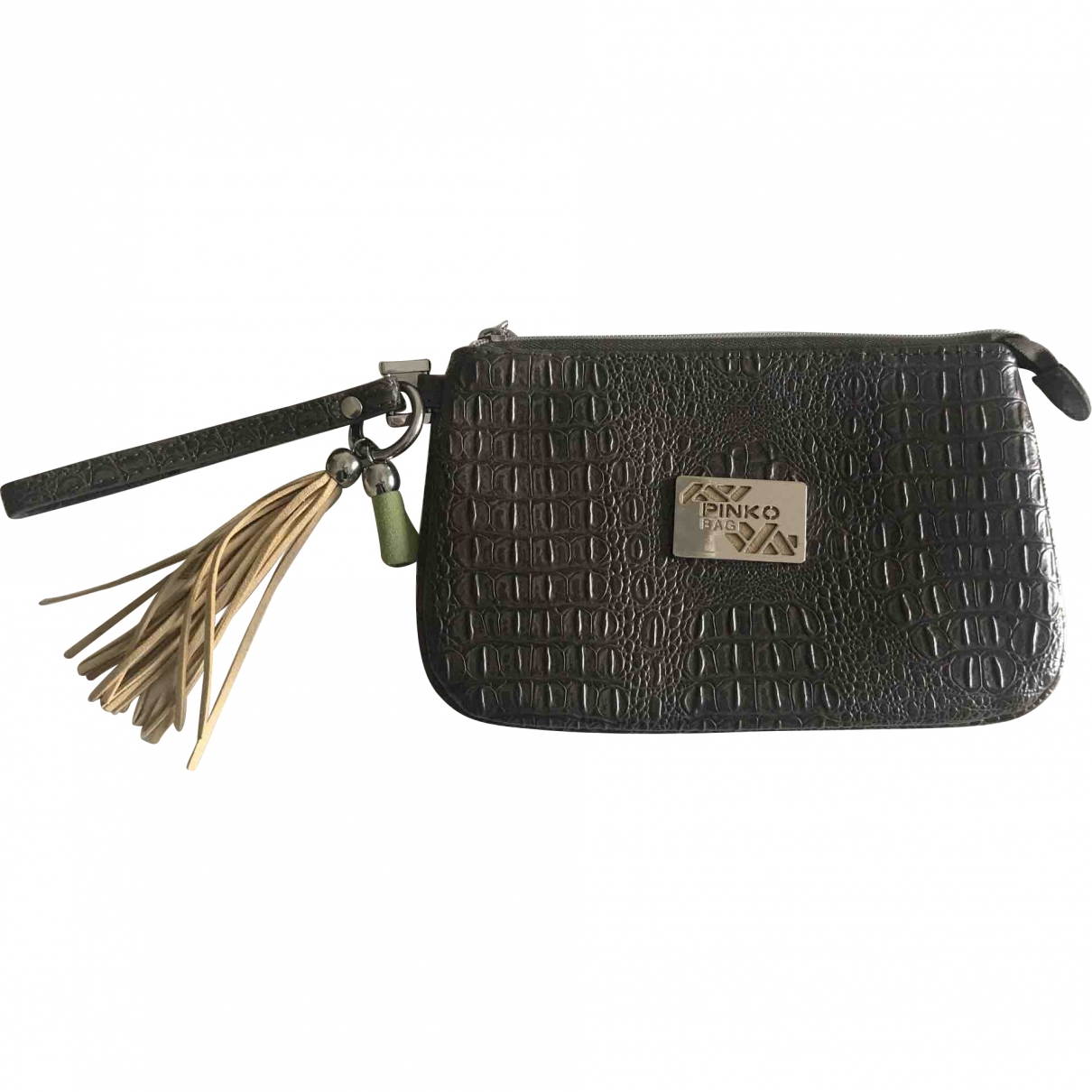 Pinko \N Khaki Clutch bag for Women \N