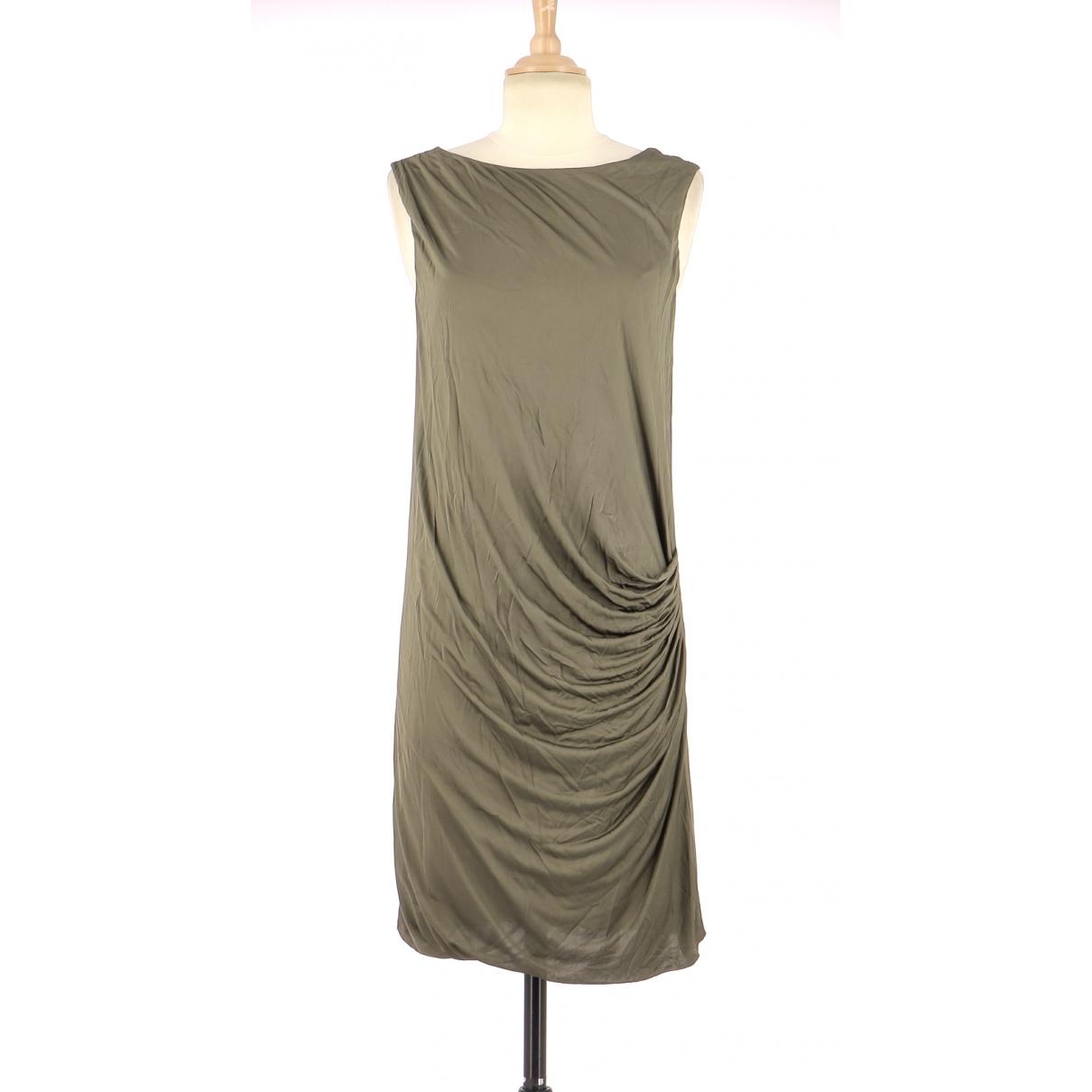 Comptoir Des Cotonniers - Robe   pour femme en coton - kaki