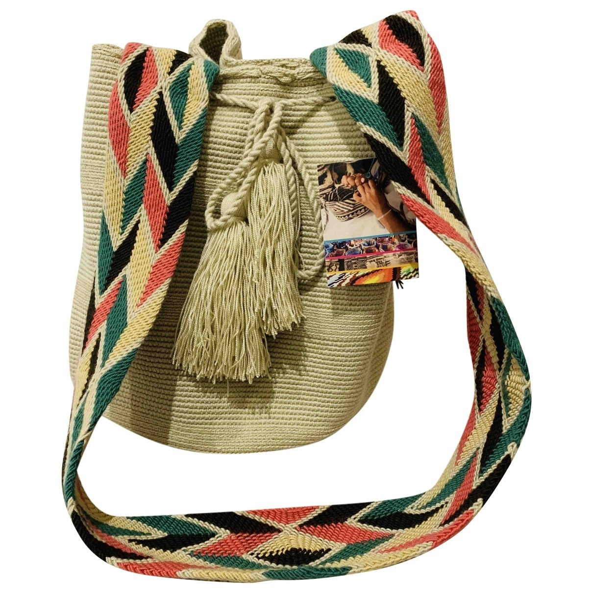 Wayuu Tribe \N Reisetasche in  Beige Baumwolle