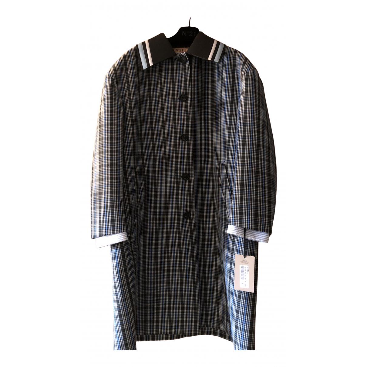 N°21 N Blue Wool coat for Women 40 FR