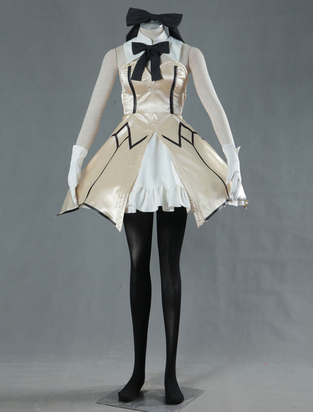 Milanoo Fate Unlimited Codes Saber Lily Cosplay Costume Halloween