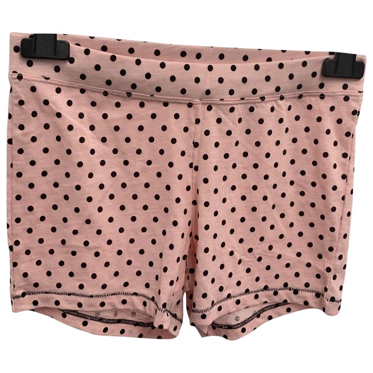 Kendall + Kylie \N Shorts in  Rosa Baumwolle