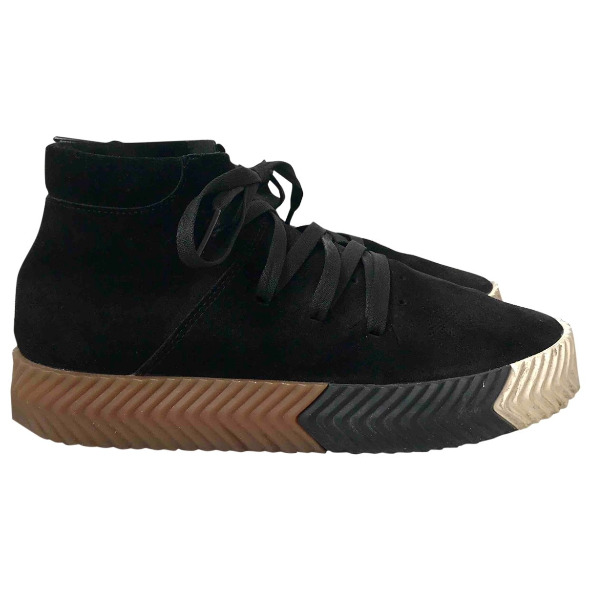 Adidas Originals X Alexander Wang \N Black Suede Trainers for Men 6 UK
