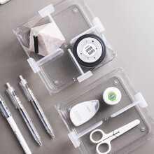 4 piezas placa de particion para almacenamiento de cajones