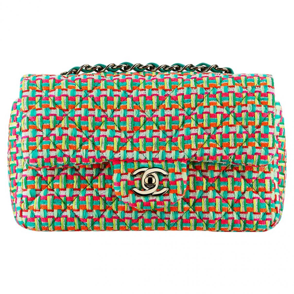 Chanel Timeless/Classique Multicolour Tweed handbag for Women \N