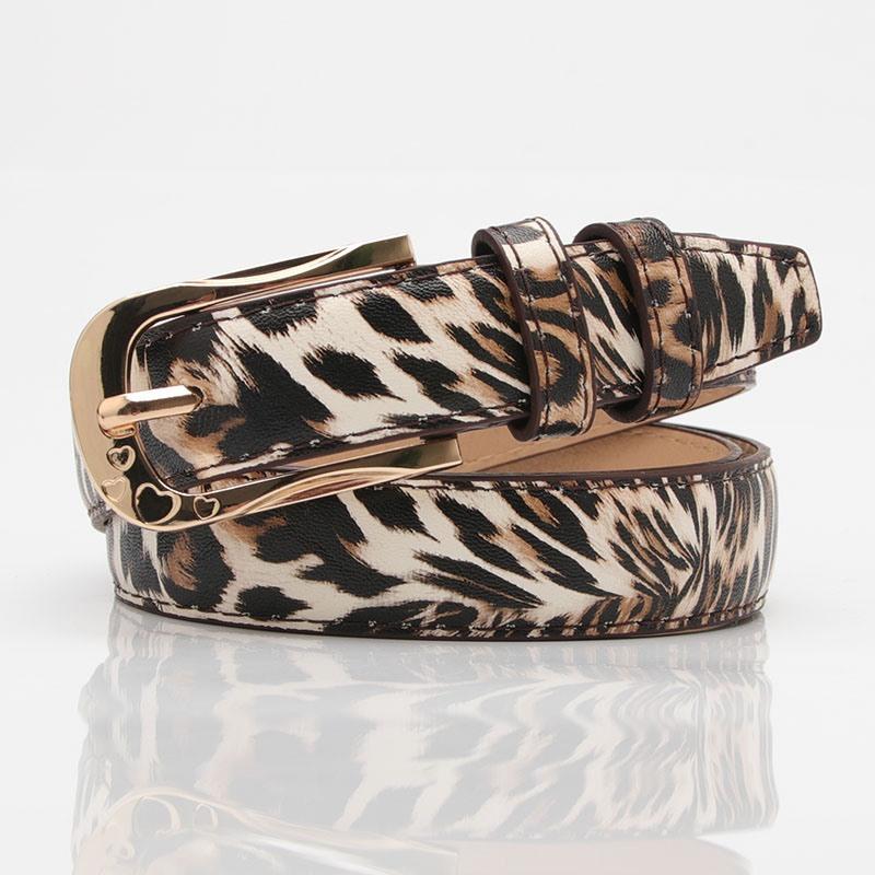 Ericdress Fashion Pin Buckle Leopard Print PU Belt