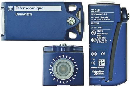 Telemecanique Sensors , Slow Action Limit Switch - Metal, NO/NC, 240V