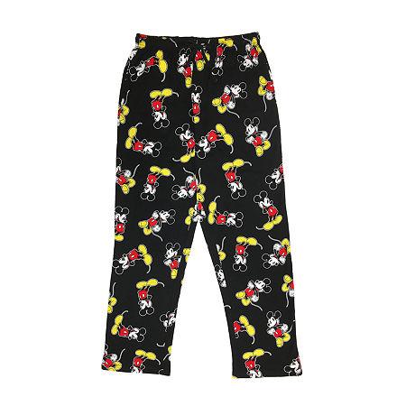 Disney Mens 2-pc. Pant Pajama Set, Small , Red