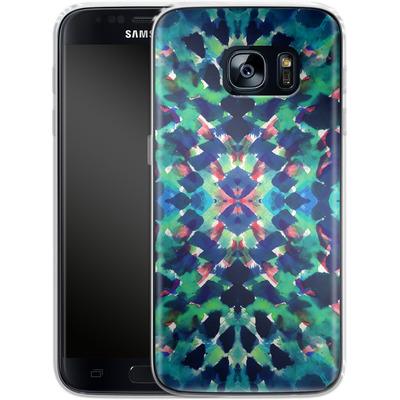 Samsung Galaxy S7 Silikon Handyhuelle - Water Dream von Amy Sia