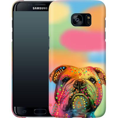 Samsung Galaxy S7 Edge Smartphone Huelle - Bulldog von Mark Ashkenazi