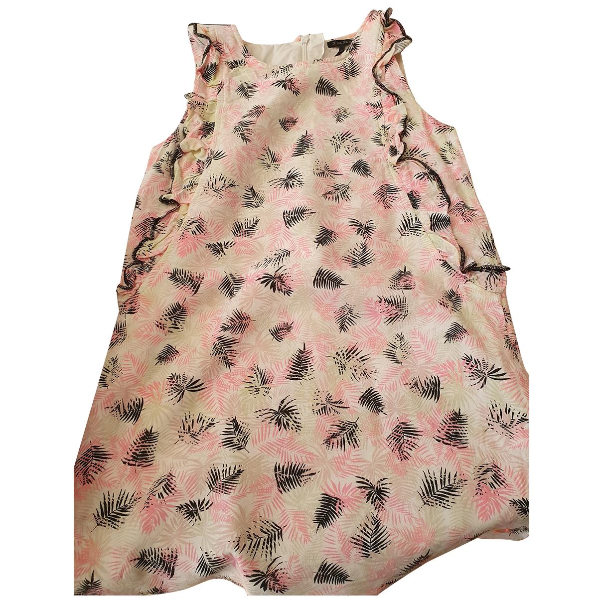 Ikks - Robe    pour enfant en coton - multicolore