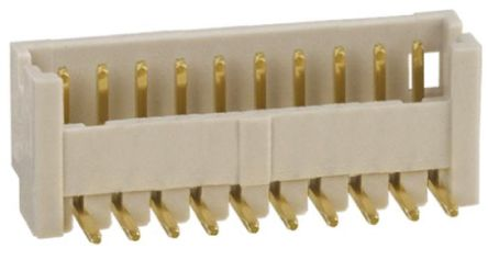 Hirose , DF13, 8 Way, 1 Row, Right Angle PCB Header (5)