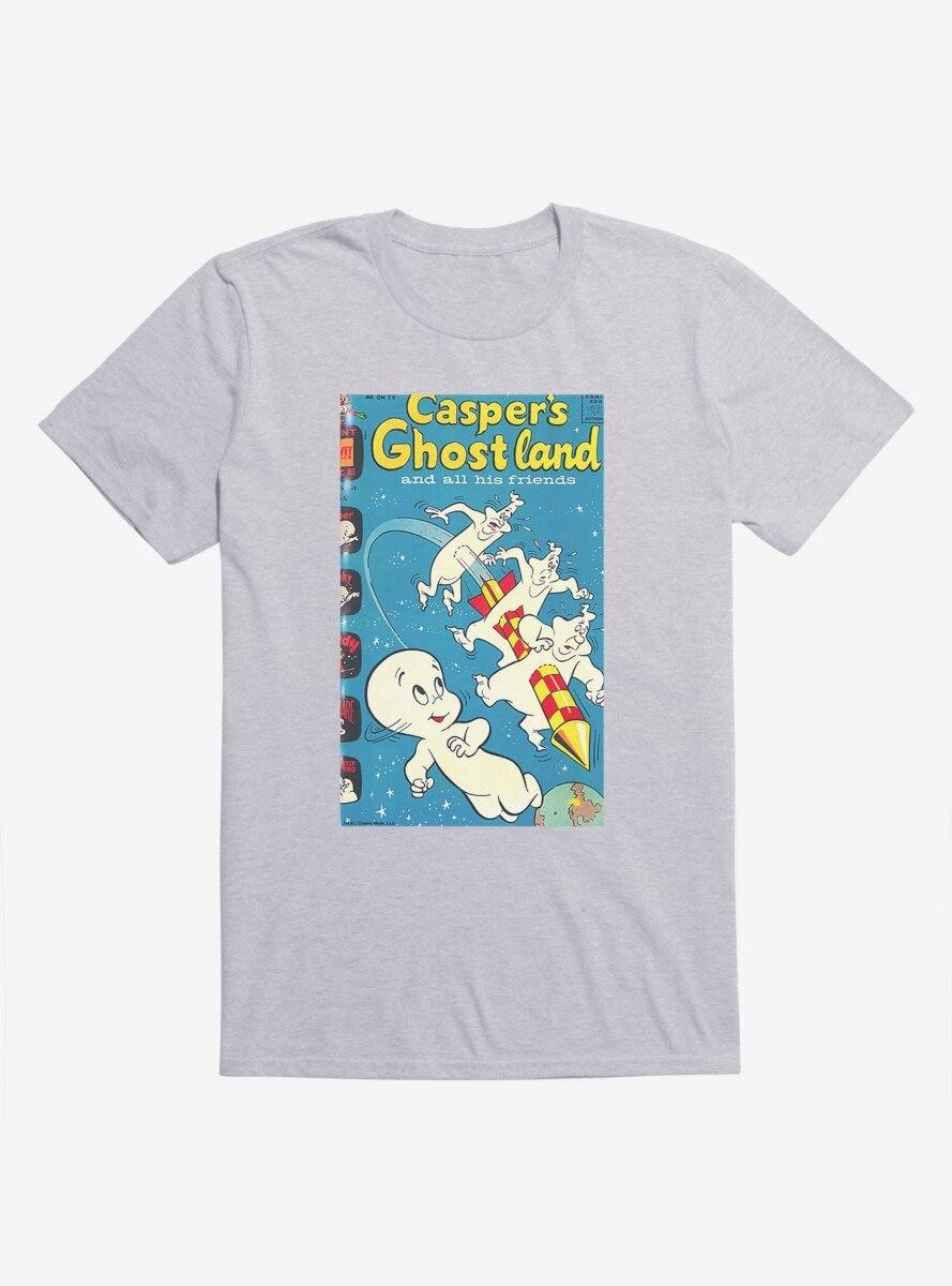 Casper The Friendly Ghost Ghostland And Friends Firework T-Shirt