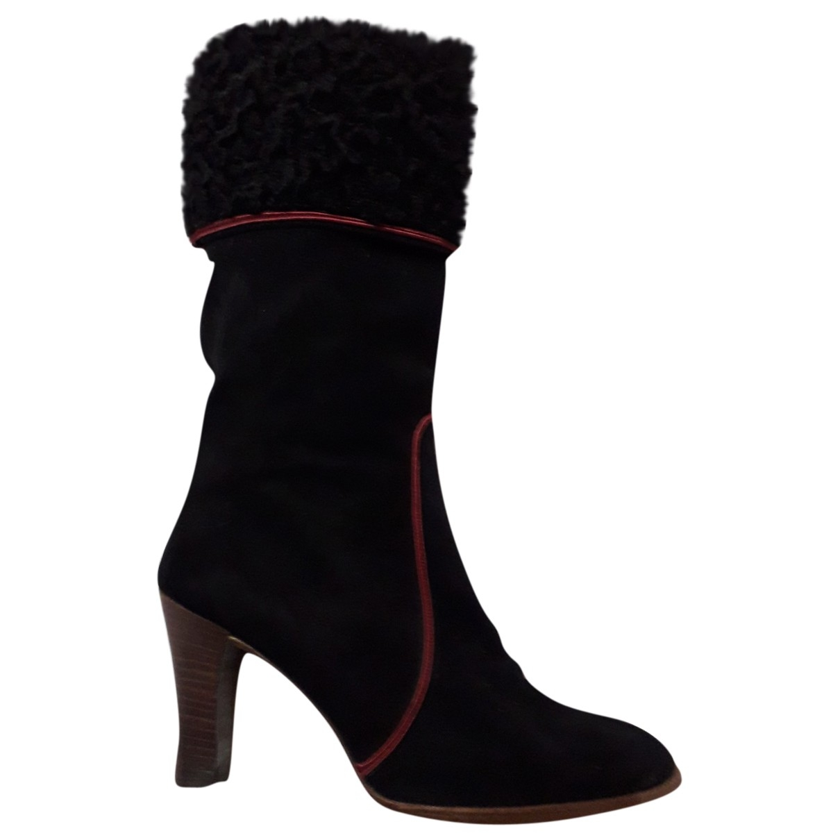 Botas de Astracan Yves Saint Laurent