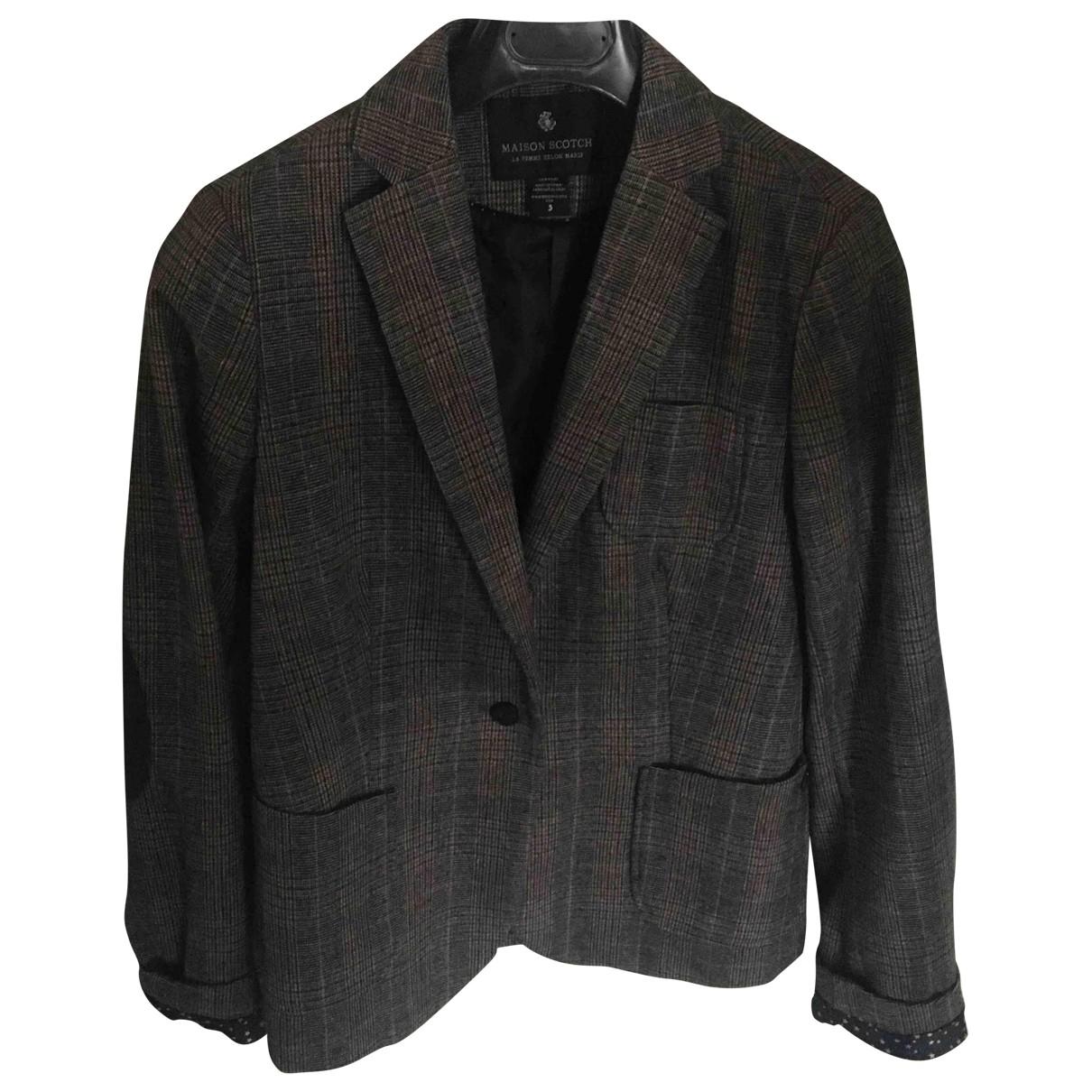 Maison Scotch \N Wool jacket for Women 42 IT
