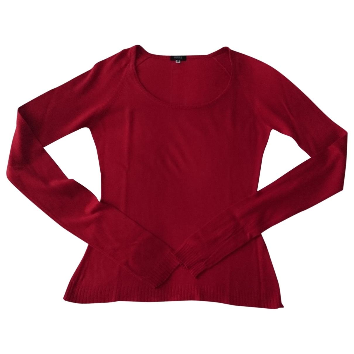 Versus - Pull   pour femme en laine - rouge