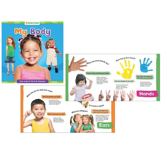 Grow With Steam: My Body Board Book, 6Ct. By Gardner Publishing   Michaels®