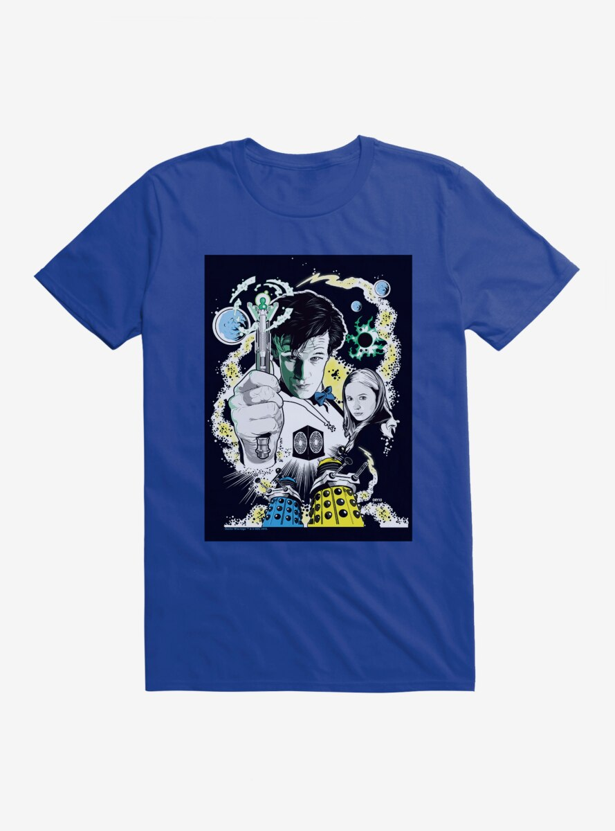Doctor Who Doctor And Pond T-Shirt
