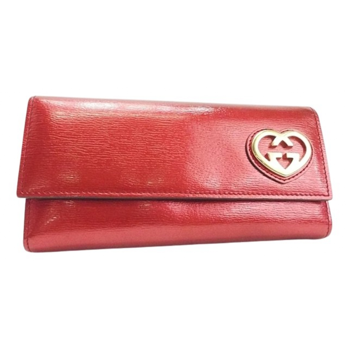 Gucci N Red Patent leather Small bag, wallet & cases for Men N