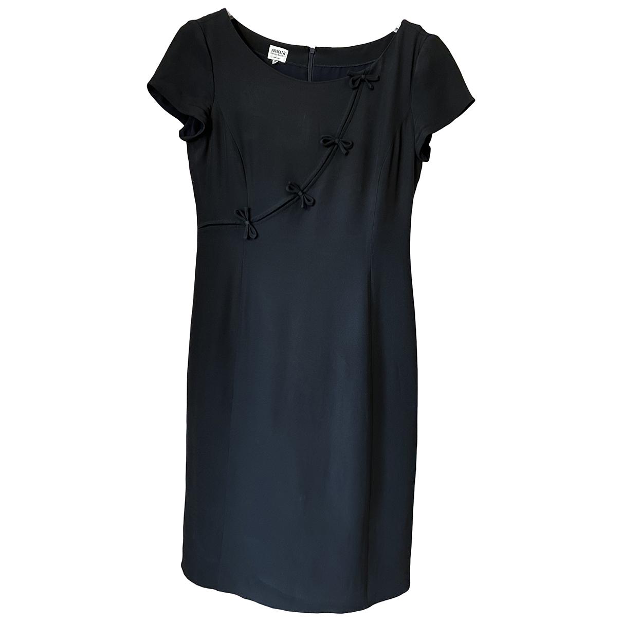 Vestido midi de Seda Armani Collezioni