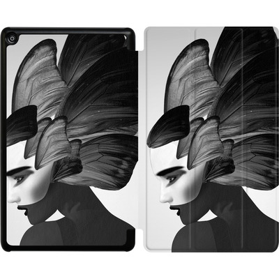 Amazon Fire HD 8 (2017) Tablet Smart Case - Lady D von Mark Ashkenazi