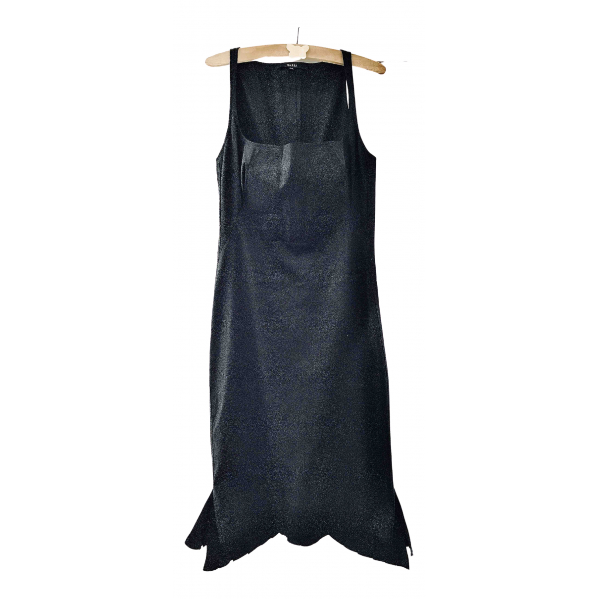 Gucci \N Black Cotton - elasthane dress for Women 44 IT