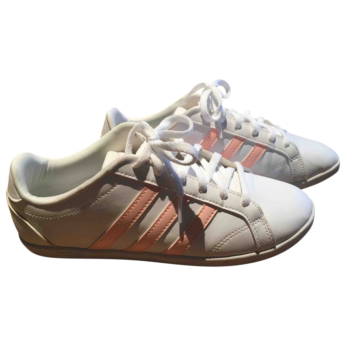 Adidas \N Sneakers in  Weiss Polyester